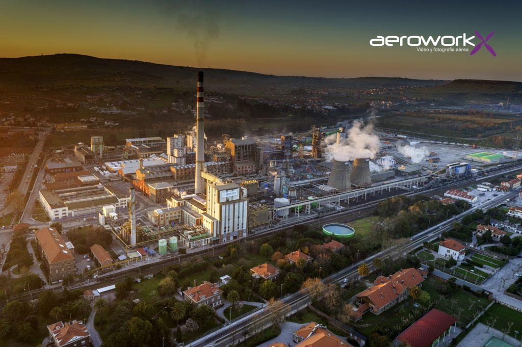 Fabrica de Solvay en Torrelavega